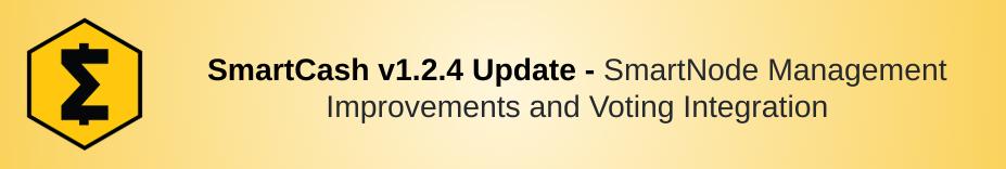 SmartCash 1.2.4 Release