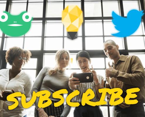 Social Media Subscribe