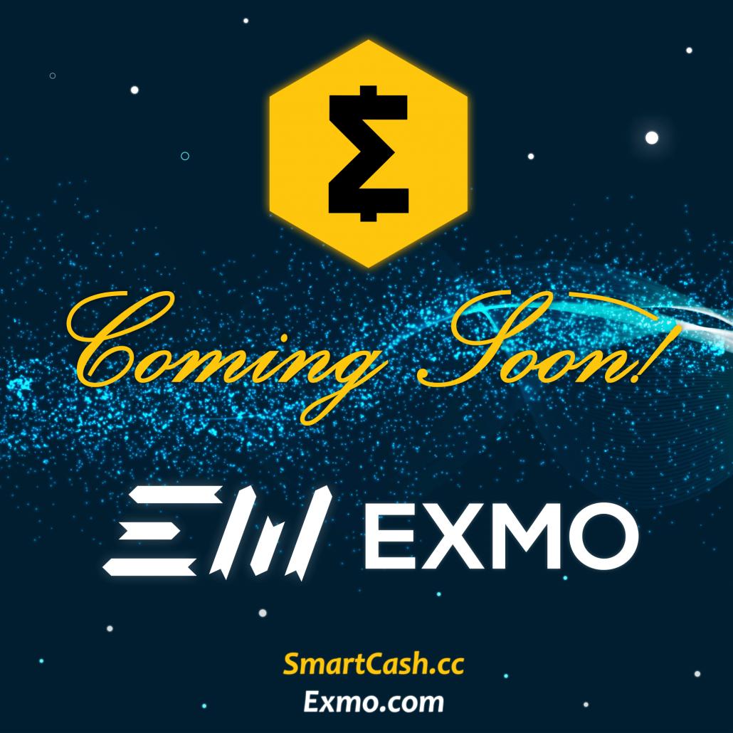 Exmo Listing SmartCash