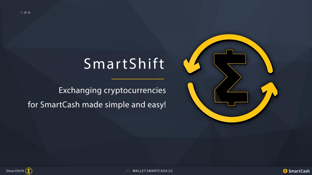 SmartShift Exchange SmartCash